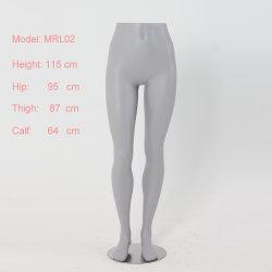 Les femmes en fibre de verre gris pantalon jambes femelle de mannequin de formulaire pour l'yoga pantalon afficher