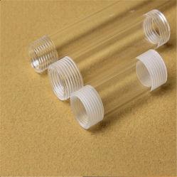 Personnaliser la vis à filetage Tube de quartz silice claire