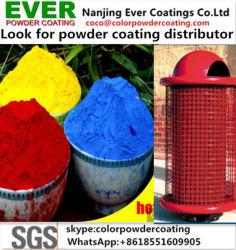Ral Farben-Korona-/Tribo-Epoxid-Polyester Spay elektrostatischen Puder-Lack Pintura en-Polvo/Puder-Beschichtung
