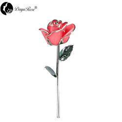 銀製のピンクのばら(花)の卸し売り結婚祝い