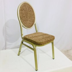 قوّيّة وضيافة متحمّل تأجيريّ يكدّر مأدبة كرسي تثبيت حديد ظهر مستديرة يتعشّى كرسي تثبيت