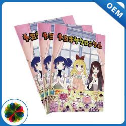 Libri di fumetti dei bambini del punto di sella di lucentezza di colore completo di stampa