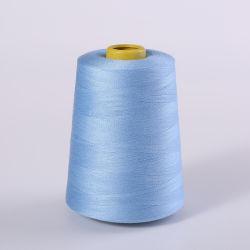 100% Polyester gesponnen garen naaidraad siliconen warmte instelling Bobbin Conus meerdere kleuren