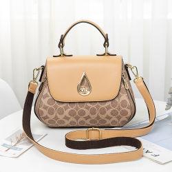 2021 Sacs à main Sac en cuir de luxe fourre-tout pour les femmes Trendy petite chaîne PU Sac à bandoulière Mini Crossbody nouvelle mode Mesdames les sacs à main