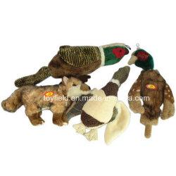 아마존 최신 판매 개 장난감 견면 벨벳 부속품에 의하여 채워지는 제품 공급 애완 동물 장난감 (공급 씹기 바이트 Squeaker)
