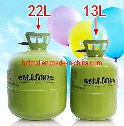 높은 순수성 축하를 위한 당에 있는 채우는 풍선을%s 산업 가스 헬륨