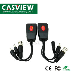De passieve Toebehoren van kabeltelevisie van de Bescherming van de Schommeling van de Steun 1080P van de Video van Balun 1CH + van 1CH Power+ 1CH AudioBNC Mannelijke Audio Mannelijke gelijkstroom Jack RJ45 Eind3MP 4MP 5MP