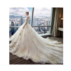Элегантный off-плечевой красивые леди отпуска по беременности и свадебные платья
