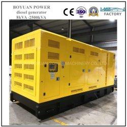 400kW 500kVA Cummins Engine의 저소음 디젤 동력 발전소