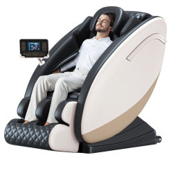 Jare 6655NF Roletes de pé de corpo inteiro de luxo massajador cadeira de massagem