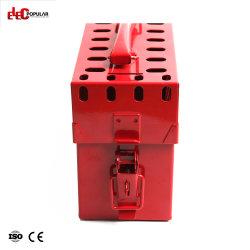 OEM portable multifonction en Acier Inoxydable Kit de verrouillage de sécurité et d'étiquetage grande capacité