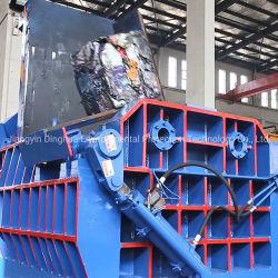 Металлические пресс-подборщик отходов алюминиевого стали медные гидравлический пресс-подборщики металлического лома машины нажмите машины