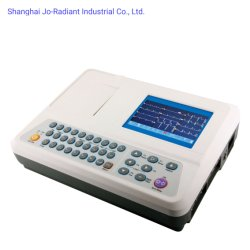 Nauwkeurige analyse draagbare zes-kanaals ECG-machine