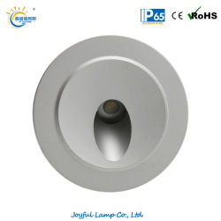 LED encastré IP65 l'étape Lampe à LED de l'Escalier du maïs de lumière Light 1W/2W/3W à LED de plein air mur de la lumière avec ce certificat RoHS