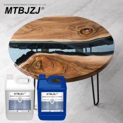 15kg toda a resina epóxi Rio Tabela de revestimento de mesa e a Conversão de resina epóxida Mtbjzj