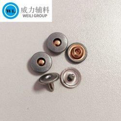 Латунные заклепки, различных цветов джинсы кнопки и заклепки, металлическими пуговицами