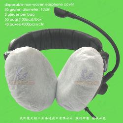 Dust-Proof Non-Woven sanitaires/SMS/stéthoscope de l'écouteur/microphone/casque jetables jetables de PP Couvercle capot de l'écouteur jetables de PP PP Couvercle casque