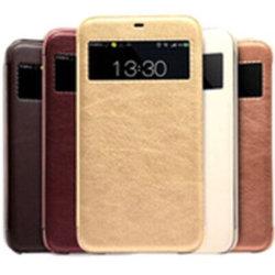 Visão Inteligente de Negócios estojo de couro Flip para a Samsung S4