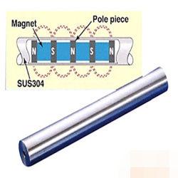 [بر منت] - قضيب مغنطيسيّة مع [ستينلسّ ستيل] تغطية - 13500 غاوس
