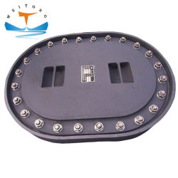 ShipのためのD Type Flush Type Boat Stainless Steel Manhole Cover