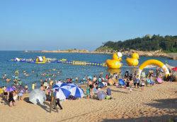 Jeux amusants de parc de loisirs de l'eau gonflables géants avec des diapositives