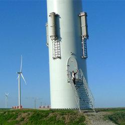 Torre de las energías eólicas de China con alta calidad