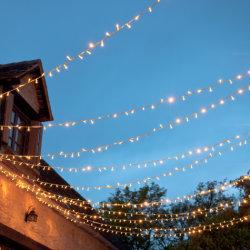 2016 Heet verkoop de Lichten van Kerstmis van het Gordijn van de Fee Openlucht