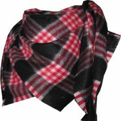 Le cachemire brossé Châle écossais carré pour l'hiver xc09027