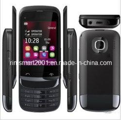 Écran tactile d'origine déverrouillé téléphone mobile double SIM C2-03