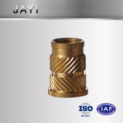 Insérer l'écrou, Enchase écrou en plastique, le moletage de l'écrou en laiton, écrou d'insertion de cuivre, DIN82