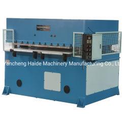 Het het hydraulische Schuim van EVA/Plastiek van de Spons/Scherpe Machine van de Matrijs van de Pakking van de Schoen van het Leer de Rubber