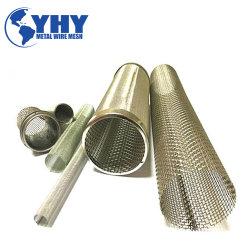 Haute qualité décorative tuyau en métal perforé