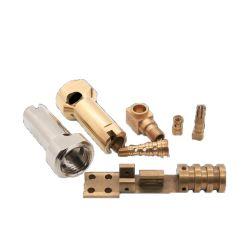 Custom Precision virou CNC peças componentes do avião de Latão