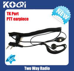 FM TransceiverのためのK02 Ptt Popular Walkie Talkie Earphone