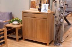Zapato de madera de roble de madera armario armario de mercancías (M-X1060)