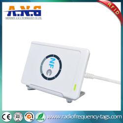مسجل ACR122u لقارئ NFC بدون أطراف تلامس بسرعة 13.56 ميجاهرتز RFID