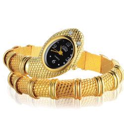 Moda reloj de la serpiente de acero inoxidable de regalo Relojes de Mujer
