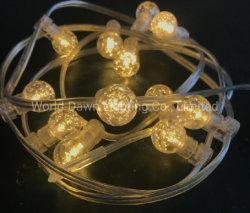 Férias de LED bola de cristal de Caracteres de Luz