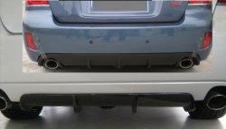 A fibra de carbono difusor traseiro (splitter) para o Subaru Legacy (liberdade)