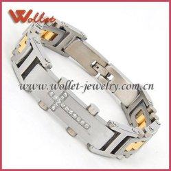 Bracelet magnétique avec Crystal (STB-2190)