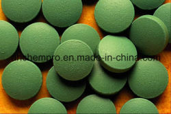 Certificación de GMP Spirulina (500 mg) tabletas, Spirulina Natural