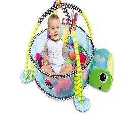 Stuoia animale rotonda del gioco del bambino di ginnastica del cotone della stuoia della moquette del bambino