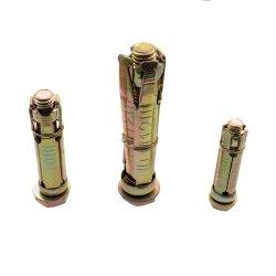 노란색 아연 도금 4 PCS 확장 볼트 M16
