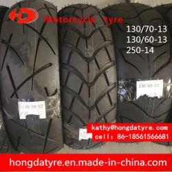 Pneu/pneu de moto de fournisseur d'usine avec le POINT CEE Inmetro 130/70-13 130/60-13 250-14