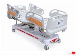 Aprovado pela CE Ponderação Five-Function ABS cama hospitalar Elétrica
