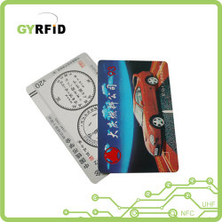 PLA Cartão Environment-Friendly Monograma do funcionário (ISO)