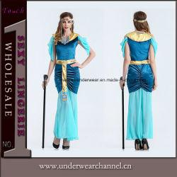 Het in het groot Sexy Egyptische Kostuum Cosplay van Halloween voor de Meisjes van Vrouwen (TLQZ1370)