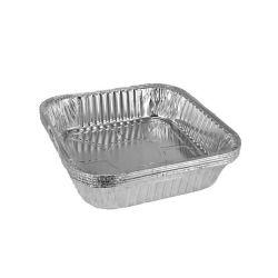 L'aviation d'aluminium à usage unique Boîte contenant des aliments de collation