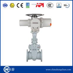 On-off/4-20 ma del actuador de válvula de compuerta electrica tipo IP68 AC/DC24V 110V 220V 380V50/60 Hz de frecuencia para refinería