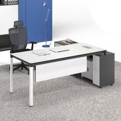 Het nieuwe Moderne L-vormige Meubilair van het Bureau van de Lijst Uitvoerende Houten MFC van het Ontwerp